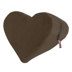 Liberator Heart Wedge Sensual Positioning Pillow, Espresso