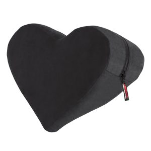 Liberator Heart Wedge Sensual Positioning Pillow, Black