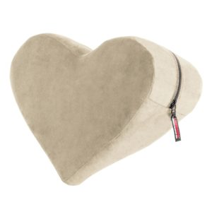 Liberator Heart Wedge Sensual Positioning Pillow, Champagne