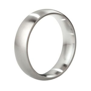 MYSTIM THE EARL – ROUND COCK RING, 48 MM, BRUSHED