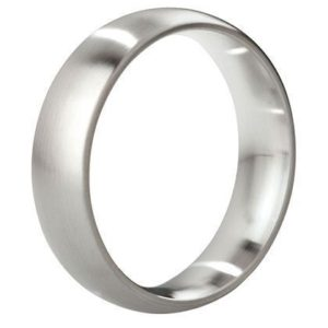 MYSTIM THE EARL – ROUND COCK RING, 51 MM, BRUSHED