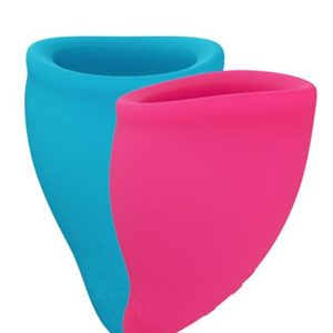 Fun Cup Size A Pink & Turquoise